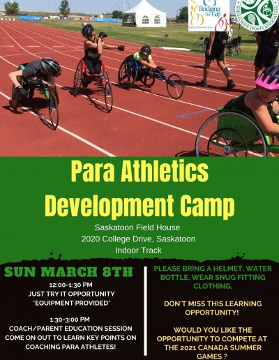 Para Athletics Camp - March 2020